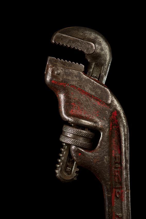 """Tool Portraits"", ""Northstar Gallery"", ""Ridgid Wrench"", ""hand tool"""