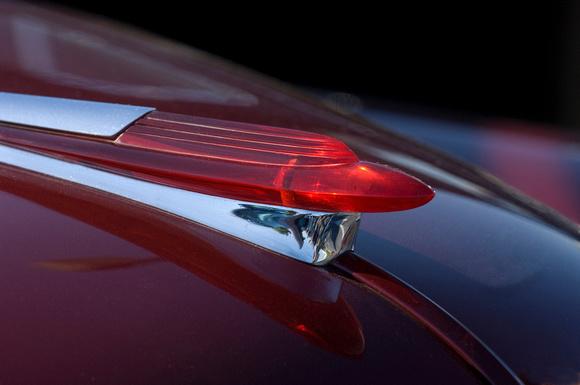 """1949, Chevrolet, DeLuxe, """"hood ornament"""", mascot, rocket, """"Northstar Gallery"""", """"Streamlining Design Movement"""", streamlining"""